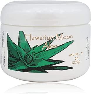 Hawaiian Moon Aloe Cream - 9 Oz Skin Care Jar