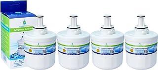4x AH-S3F filtre à eau compatible pour Samsung réfrigérateur DA29-00003F, HAFIN1/EXP, DA97-06317A-B, Aqua-Pure Plus, DA29-...