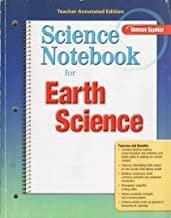Glencoe Science, Earth Science: Science Notebook (Teacher Annotated Edition)