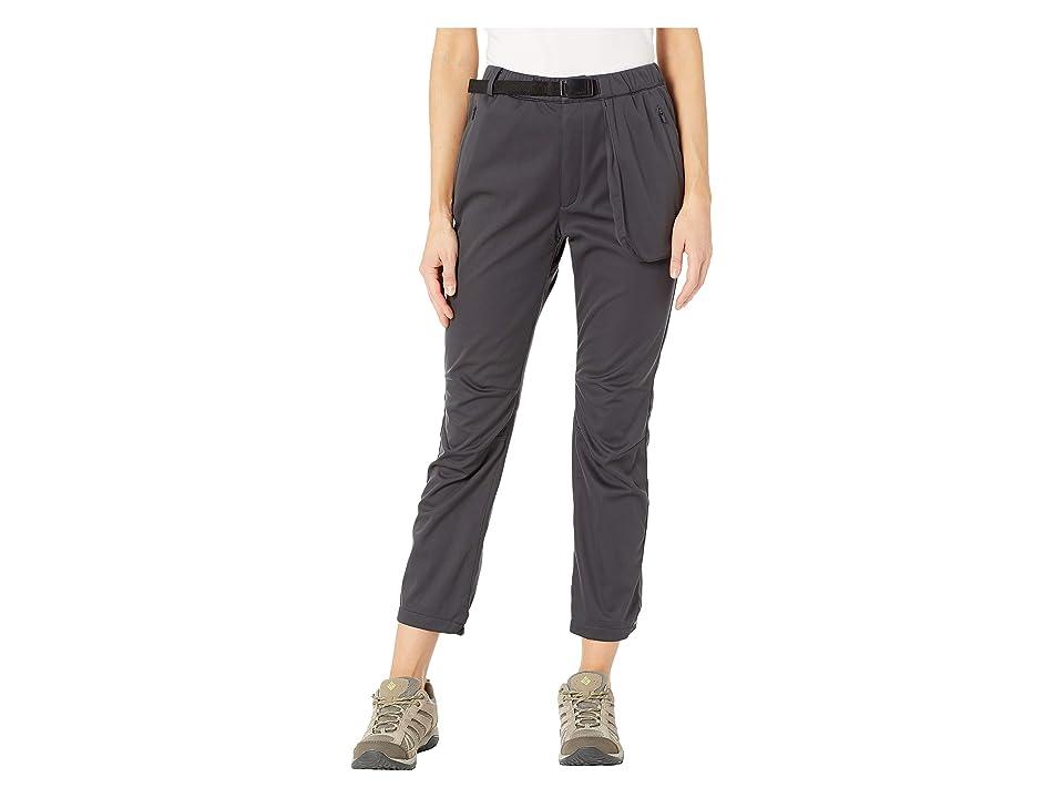 Snow Peak 3L Softshell Pants (Black) Women
