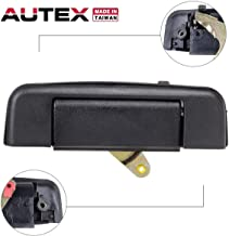 AUTEX 1pcs Tailgate Lift Tail Gate Rear Latch Cargo Hatch Door Handle Compatible with Toyota Pickup 1989 1990 1991 1992 1993 1994 1995 77103, 69090-89102, 6909089102, TO1915101