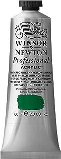 Winsor & Newton Professional Acrylic Color Paint, 60ml Tube, Phthalo Green Yellow Shade