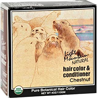Hair Color & Conditioner- Chestnut Light Mountain 4 oz Powder