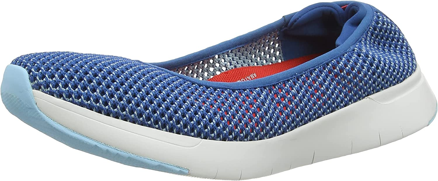 FitFlop Women's Airmesh Ballerina-Two Tone Popular shop is the Popular product lowest price challenge Mesh Flat Ballet