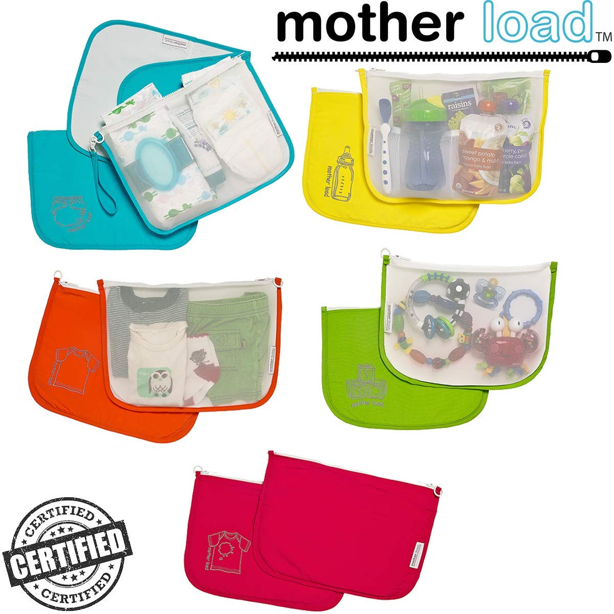 Diaper Organizer Pouches MOTHER LOAD