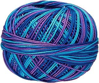 Handy Hands Lizbeth Thread Egyptian Cotton Crochet, Tatting, Knitting Lace Size 10 (25 Grams 122 Yards) – HH10122-Carribean