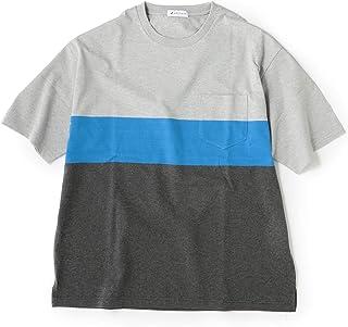 [シップスジェットブルー] Tシャツ (0327)JB:BLOCKING BDR TEE 122110294 メンズ