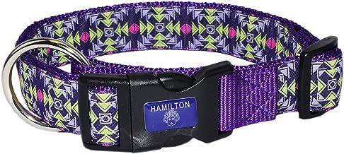 Hamilton Adjustable Dog Collar Ribbon Overlay Patterns