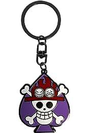 ABYstyle - ONE PIECE - Llavero - Skull Ace: Amazon.es: Juguetes y juegos