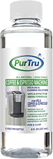 Coffee and Espresso Machine Descaling and Cleaning Solution - All Natural Descaler and Cleaner For Keurig, Bunn, Delonghi, Nespresso and All Drip Coffee, Espresso and Single Cup Machines