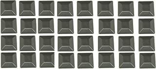 JSP Manufacturing Plastic New Fence Post Black Caps 4X4 (3 5/8