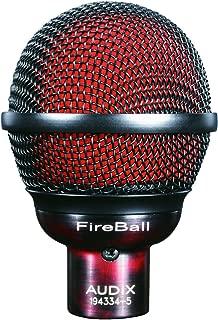 Audix Dynamic Microphone, Black, 6.00 x 9.00 x 12.00 inches (FIREBALL)