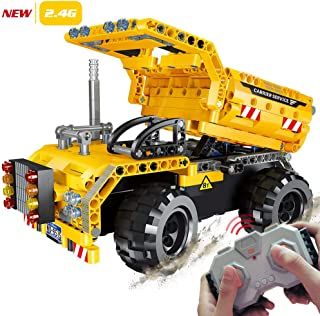 STEM Engineering Toys | Dump Truck Building Set with...