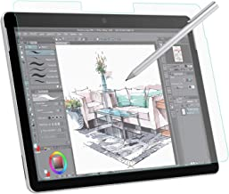 MoKo Paper-Like Screen Protector for Surface Go, Write, Draw and Sketch with The Surface Pen Like on Paper, Anti Reflection PET Film for Microsoft Surface Go 10 inch 2018 Tablet - Clear