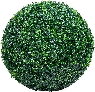 Wansan Artificial Flowers Fake Milan Grass Ball for Home Garden Party Wedding Decoration 30cm