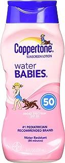 Coppertone WaterBabies Sunscreen Lotion SPF 50, 8 oz