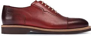 Deery Hakiki Deri Kırmızı Günlük Erkek Ayakkabı - 01687MKRME01