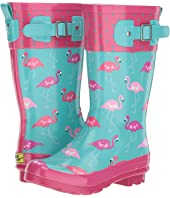 Western Chief Kids - Classic Tall Fab Flamingo (Little Kid/Big Kid)