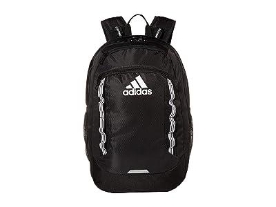 adidas Excel V Backpack (Black/White) Backpack Bags