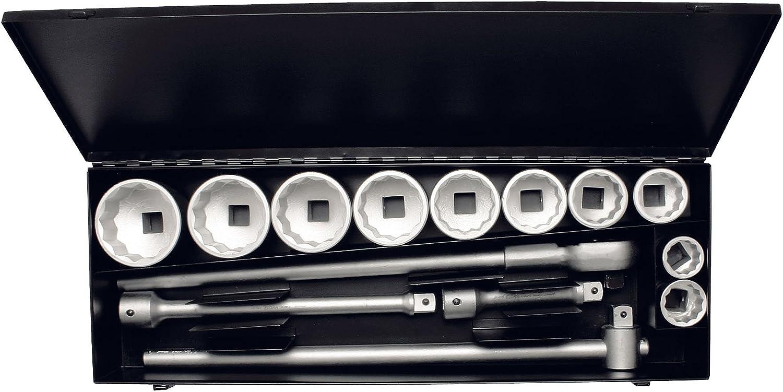 Elora 780-10M 780-10M 780-10M Steckschlüssel-Satz 1 Zoll, Zwölfkant, 14-teilig 36-80 mm B003QO60VU   Üppiges Design  af9214