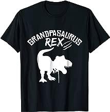 Grandpasaurus Rex T-Shirt, Dinosaur Grandpa Shirt