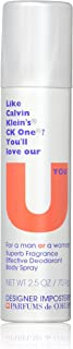 Designer Imposters U You Perfume By PARFUMS DE COEUR 2.5 oz Deodorant Body Spray (Unisex) FOR WOMEN