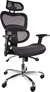 cxo high back mesh chair with headrest