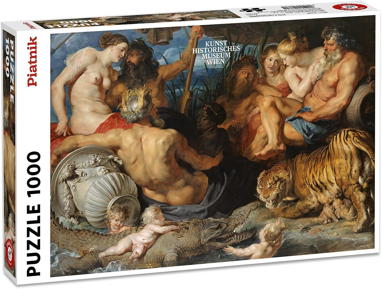 Piatnik Rubens-Four Great Rivers of Antiquity Puzzle Jigsaw (1000 Piece)