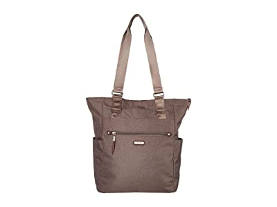Baggallini New Classic Make Way Tote with RFID Wristlet (Dark Umber) Handbags