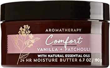 Bath and Body Works Aromatherapy Comfort Vanilla Patchouli Body Butter 6.7 ounces