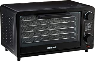 CORNELL CFDE1403 14L Food Dehydrator with 5 Drying Racks Fruits Dryer and Dog Treat Maker,Black