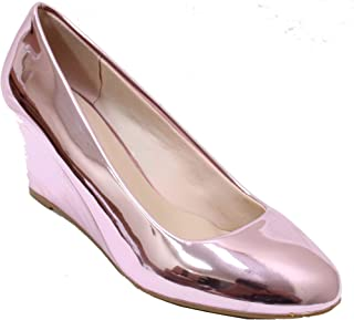 Forever Link Womens Doris-22 Doris-26 Pink Size: 9
