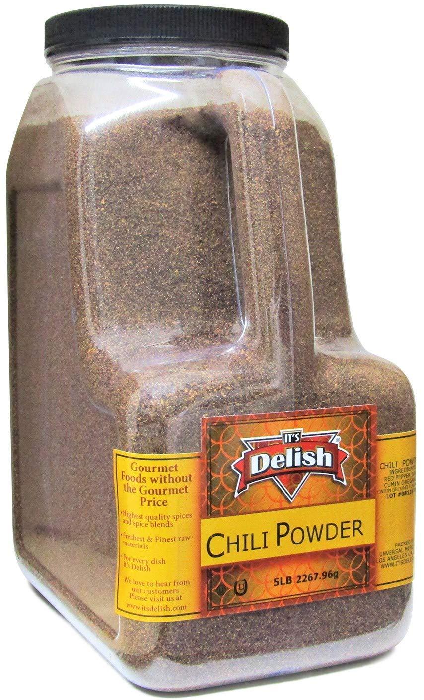 Gourmet Dark Chili Powder Its Delish Gallon Max 61% OFF LBS 5 Ju – Sale item Size