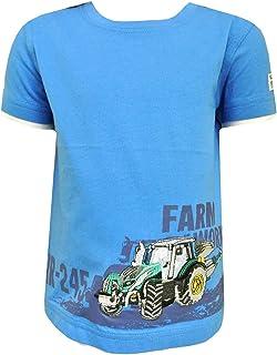 SALT AND PEPPER Jungen T-Shirt mit Traktor gr/ün 73212127