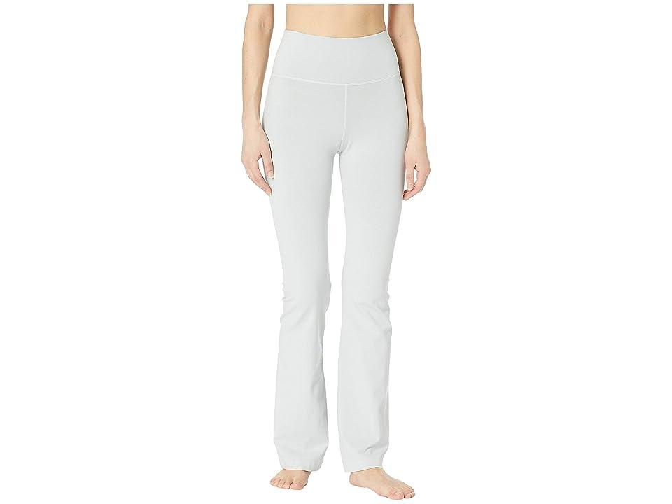Hard Tail Rolldown Bootleg Flare Pants (Dove) Women