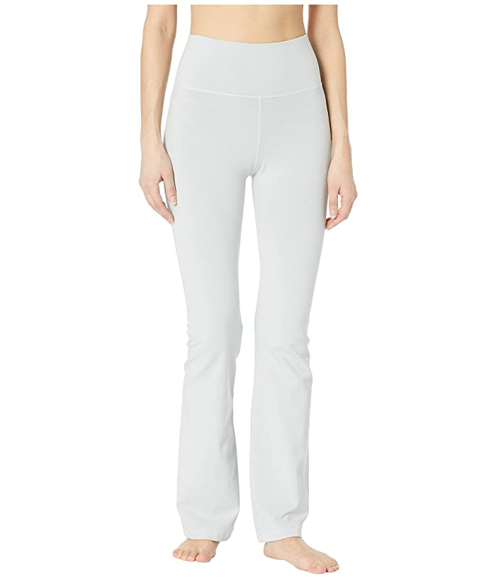 Hard Tail Rolldown Bootleg Flare Pants (Dove) Women