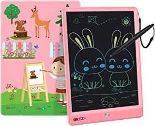 GKTZ LCD Writing Tablet for Kids 10 inch Electronic Drawing Pads Doodle and Scribbler Boards for Boys and Girls Learning H...