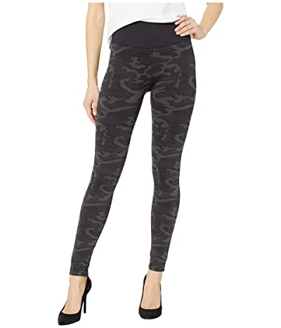 Splendid Studio Seamless Camo Leggings (Black Camo) Women
