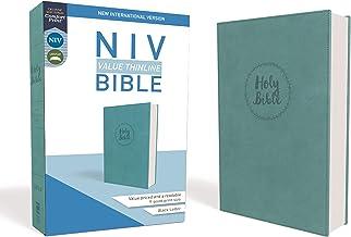 NIV, Value Thinline Bible, Leathersoft, Teal, Comfort Print PDF