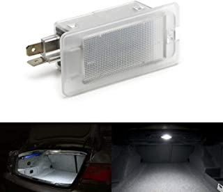 iJDMTOY Xenon White LED Trunk/Glove Box Light For Hyundai Accent Elantra Genesis Coupe Sonata, Kia Optima Forte Rio K900 etc. Great as OEM Replacement (Powered by 18 Pieces of SMD LED Lights)