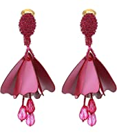 Oscar de la Renta - Small Impatiens Earrings