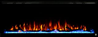 log heater fireplace