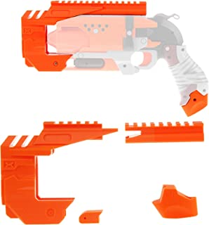 WORKER Mod Kit Set for Nerf Zombie Strike Hammershot Blaster Attachment