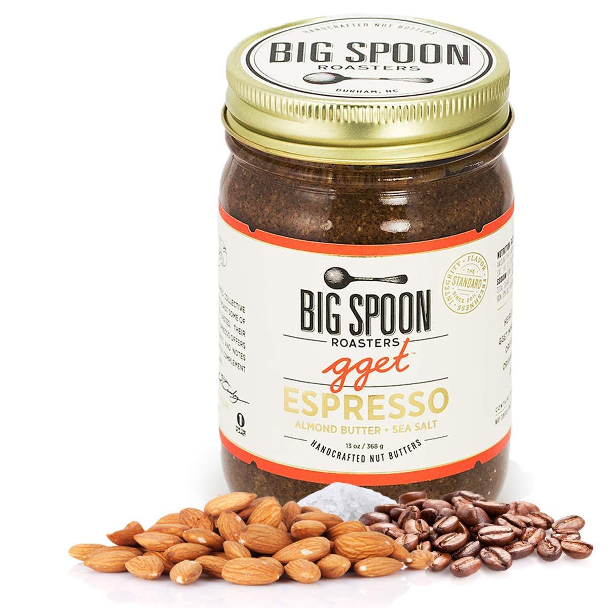 Big Spoon Roasters Espresso Almond Butter - F With 40% OFF Cheap Sale Sea Keto Salt Max 59% OFF