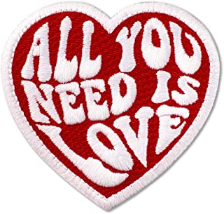 The Beatles All You Need is Love Embroidered Patch Iron On (3