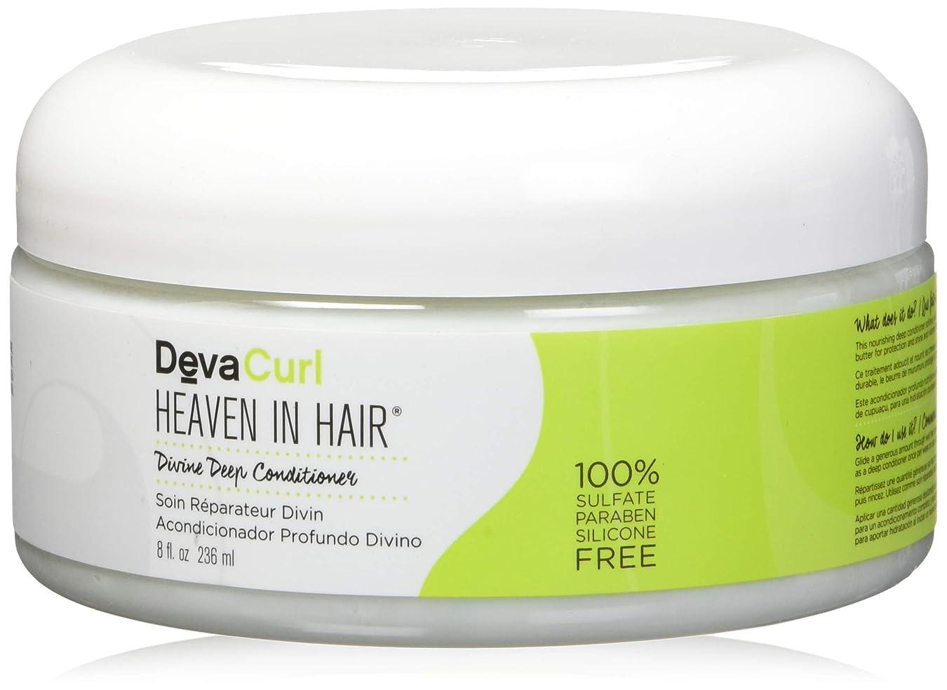 作ります農学評判デヴァ Heaven In Hair (Intense Moisture Treatment - For Super Curly Hair) 236ml/8oz並行輸入品