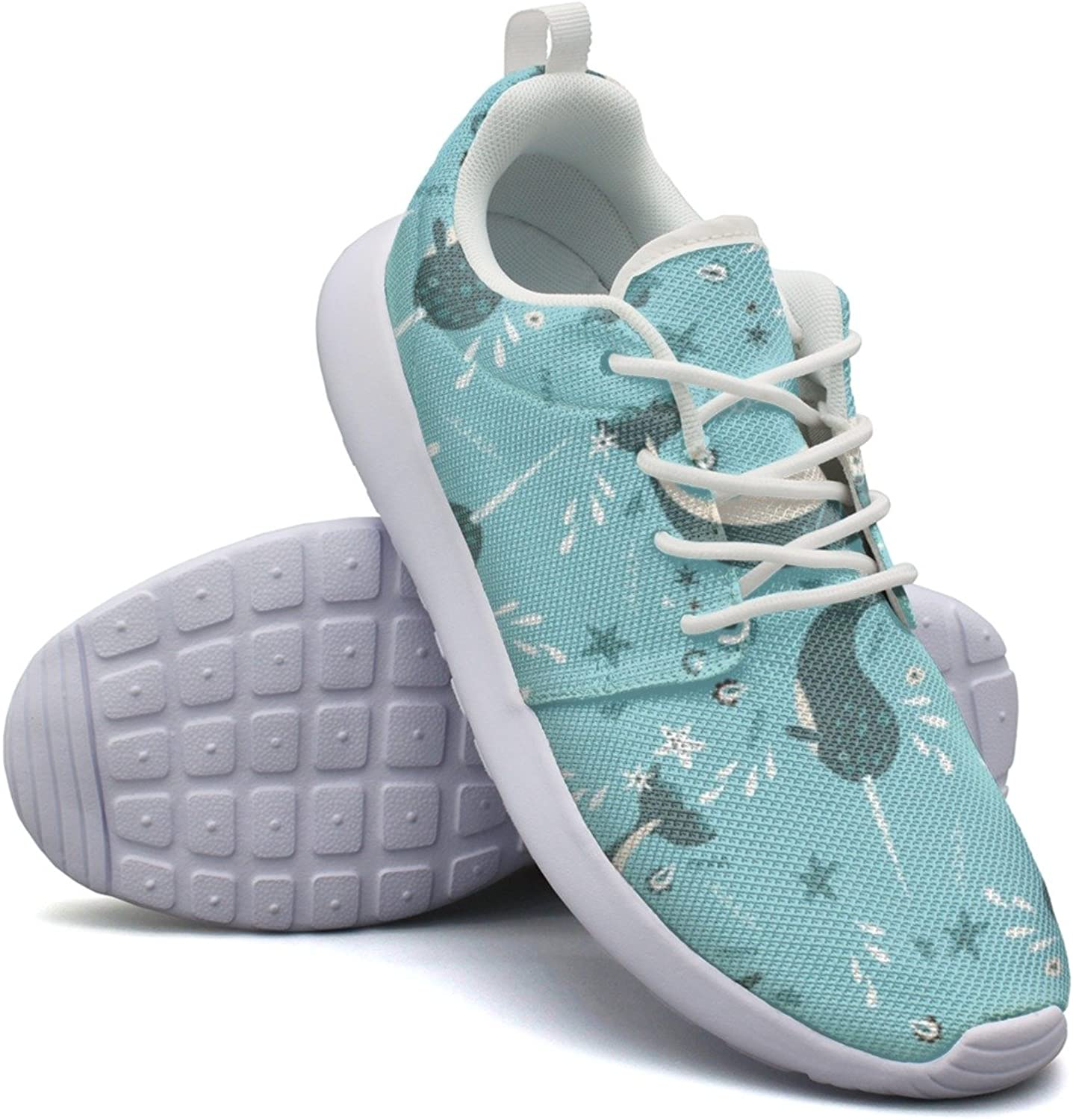Narwhal In Tide Womens Neutral Fashion Running shoes Cool colorful