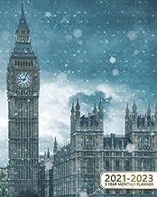 3 Year Monthly Planner 2021-2023: Magnificent Big Ben Three Year Organizer & Schedule Agenda - 36 Month Motivational Calen...