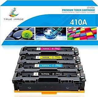True Image Compatible Toner Cartridge Replacement for HP 410A CF410A CF411A CF412A CF413A..