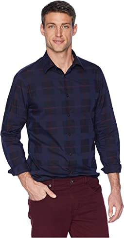 Large Plaid Multi Check Shirt